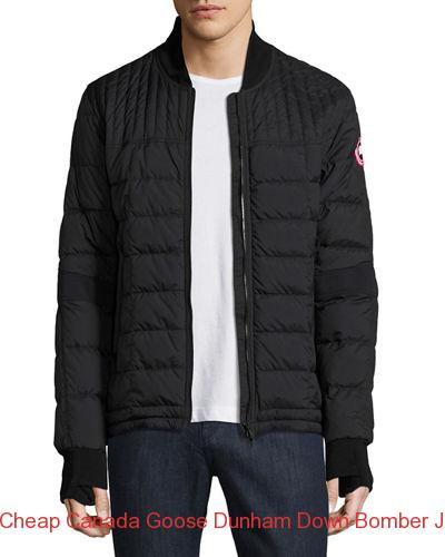Cheap Canada Goose Dunham Down Bomber Jacket