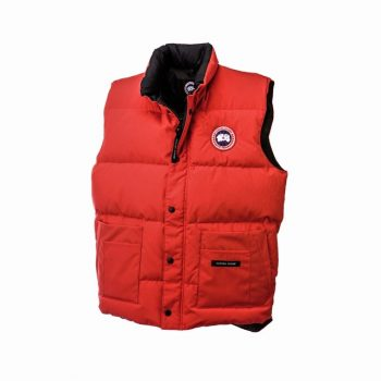 5c1a168ed33 Canada Goose Coat Near Me CANADA GOOSE FREESTYLE VEST Red Mens 4150M ...