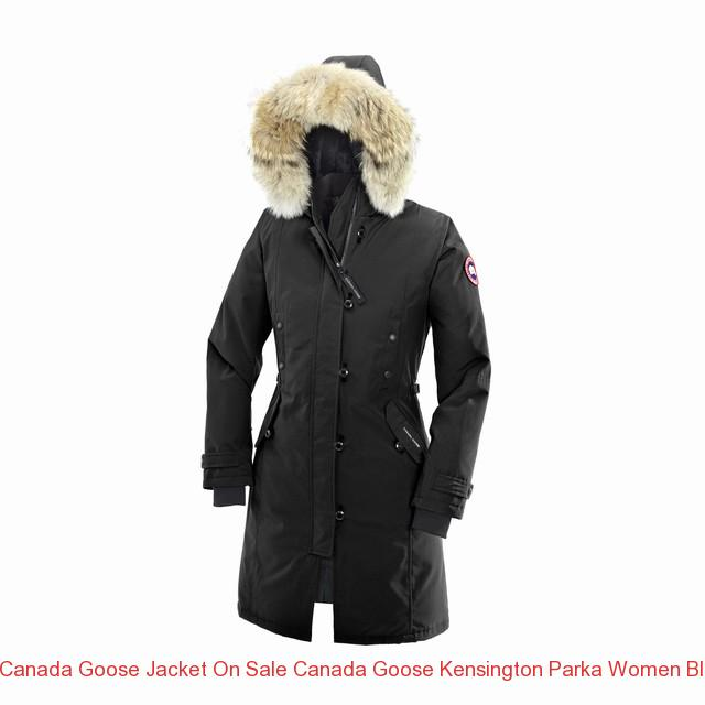 Canada Goose Jacket On Sale Canada Goose Kensington Parka Women Black 2506l