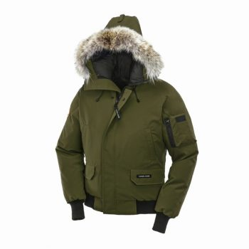 detailed look c4692 335b1 Canada Goose Jackets Usa Stores CANADA GOOSE CHILLIWACK BOMBER MEN Military  Green 7950M