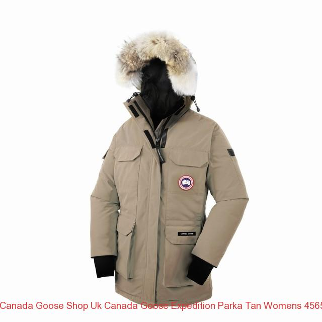 11e4e8c00e62 Canada Goose Shop Uk CANADA GOOSE EXPEDITION PARKA Tan WOMENS 4565L ...