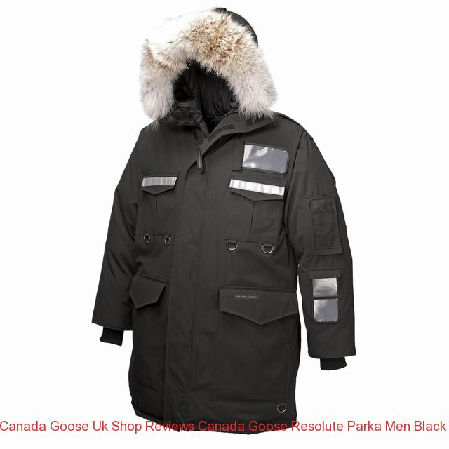 31081dd6b785 Canada Goose Uk Shop Reviews Canada Goose Resolute Parka Men Black 8501m